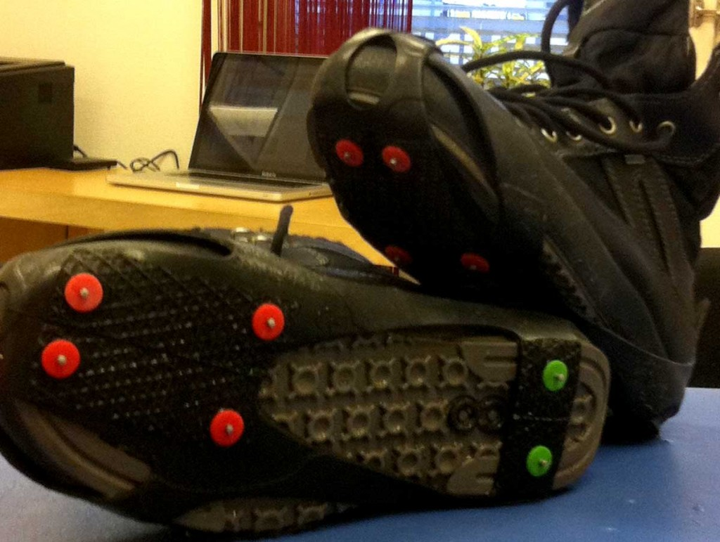 Broddar på skor